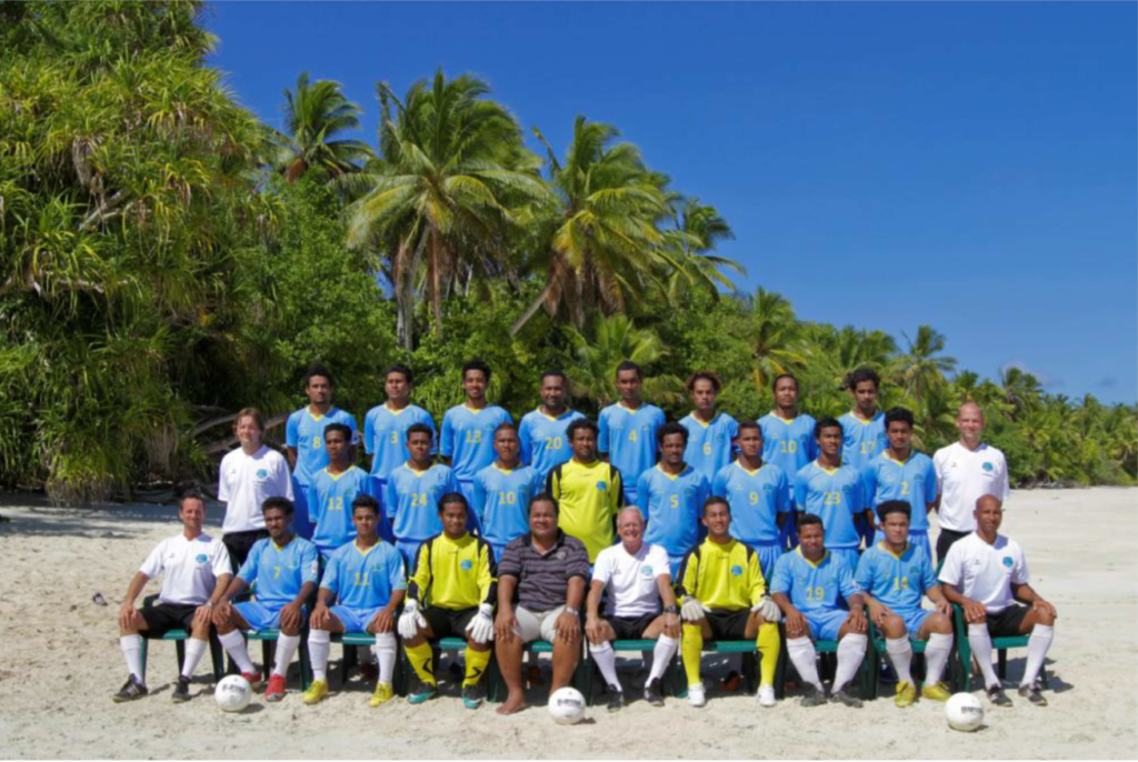Tuvalu-teamfoto