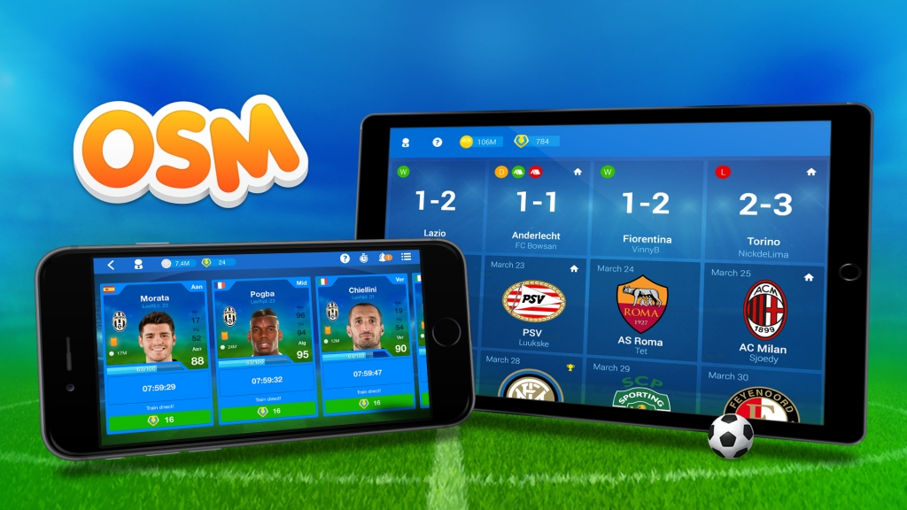 Worldwide launch of Online Soccer Manager