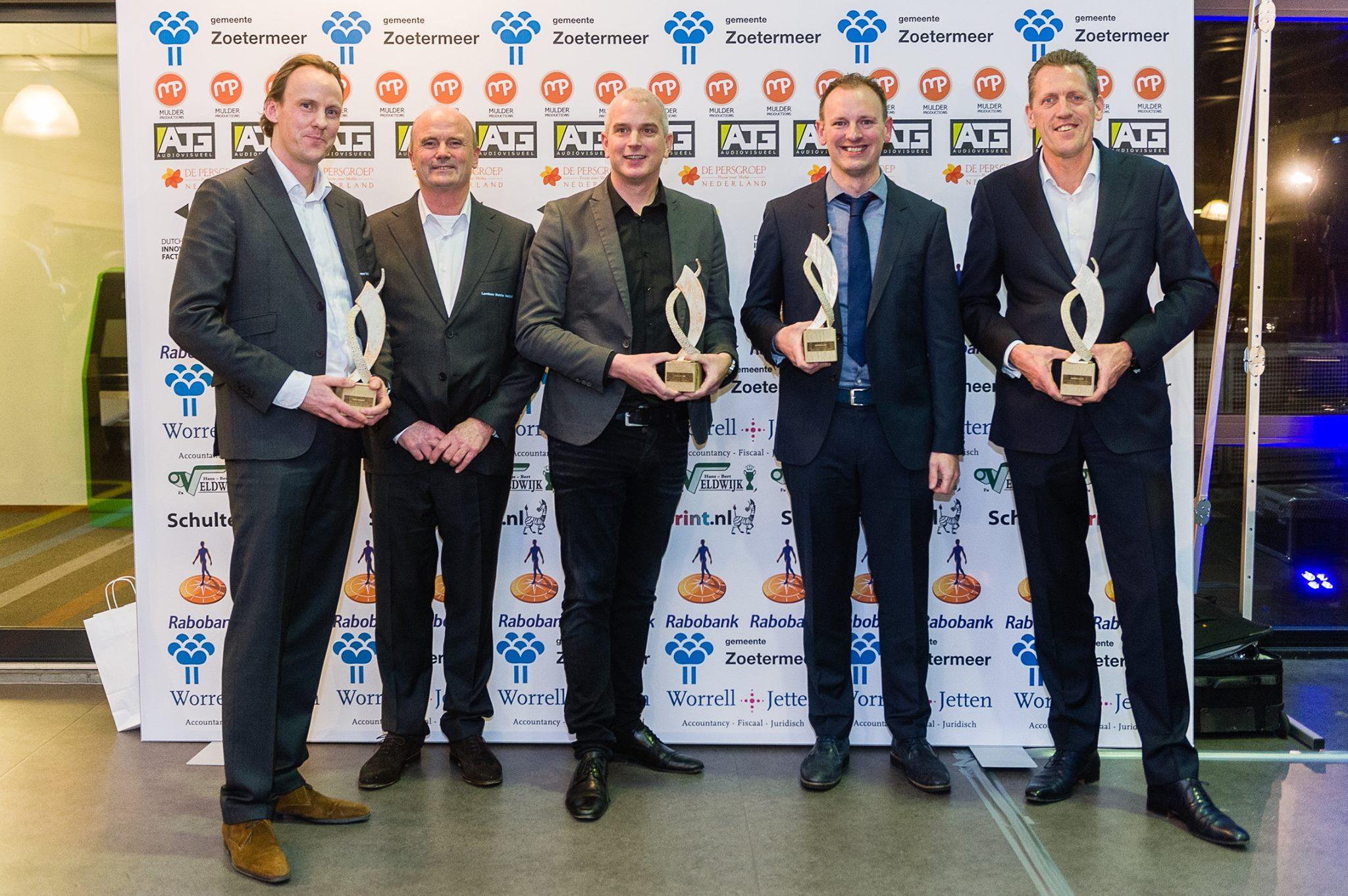 Gamebasics wint Publieksprijs bij Innovatieprijzen Zoetermeer 2016