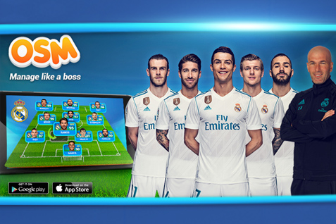 Real Madrid & OSM wereldwijd partners!