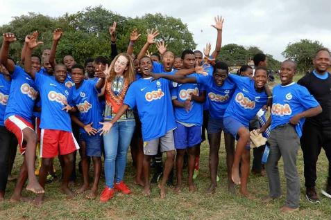 OSM shirtsponsor in Swaziland